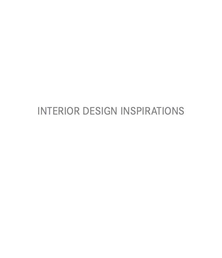 Interior Design Inspirations