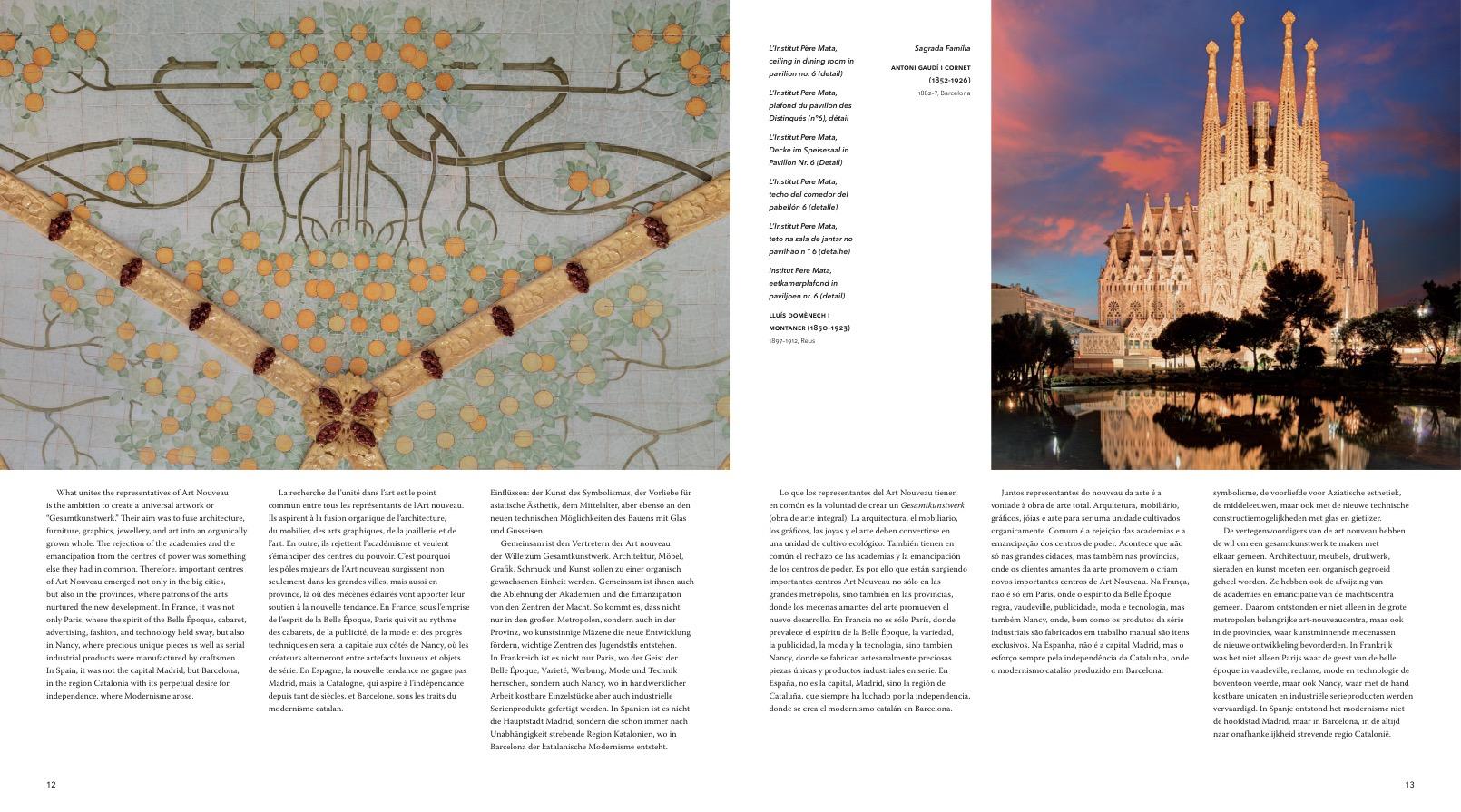 Art Nouveau - Paris, Bruxelles, Barcelona